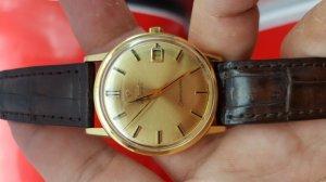 Omega seamaster vỏ vàng 18k mặt số vàng xưa chính hãng