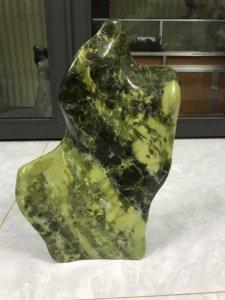 MS 9027.Cây đá xanh ngọc cao 42cm,nặng 11kg,quá xinh để trang trí phòng khách,bàn làm việc...