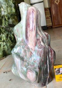 Cây đá Ngũ sắc, cao 48cm, giá...