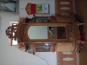 Tủ chùa trần gỗ