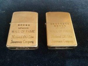 Zippo 10k gold filled