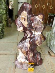 Cây đá vân thổ cẩm, cao 65cm,...