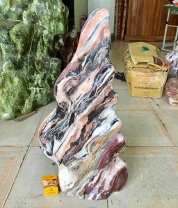 Cây đá vân thổ cẩm, cao 70cm,...