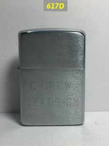617D-Chữ xéo 1961 C-CREW SYADs 62