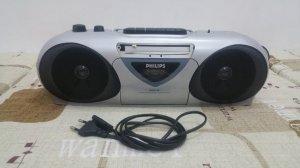 Radio Cassette PHILIPS AQ-5150 (Hàng xuất điện 220 vol)