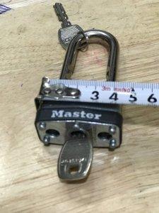 Khóa MASTER-2 chìa - Đồ XƯa - hàng Xách tay từ Mỹ