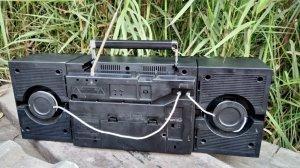 Cassetle radio Sanyo MW230K