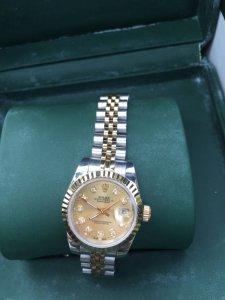 Đồng hồ RoLex nữ 6 số thuỵ sĩ chính hãng 18k gold
