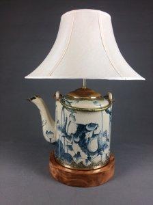 Đèn ngủ để bàn ấm trà