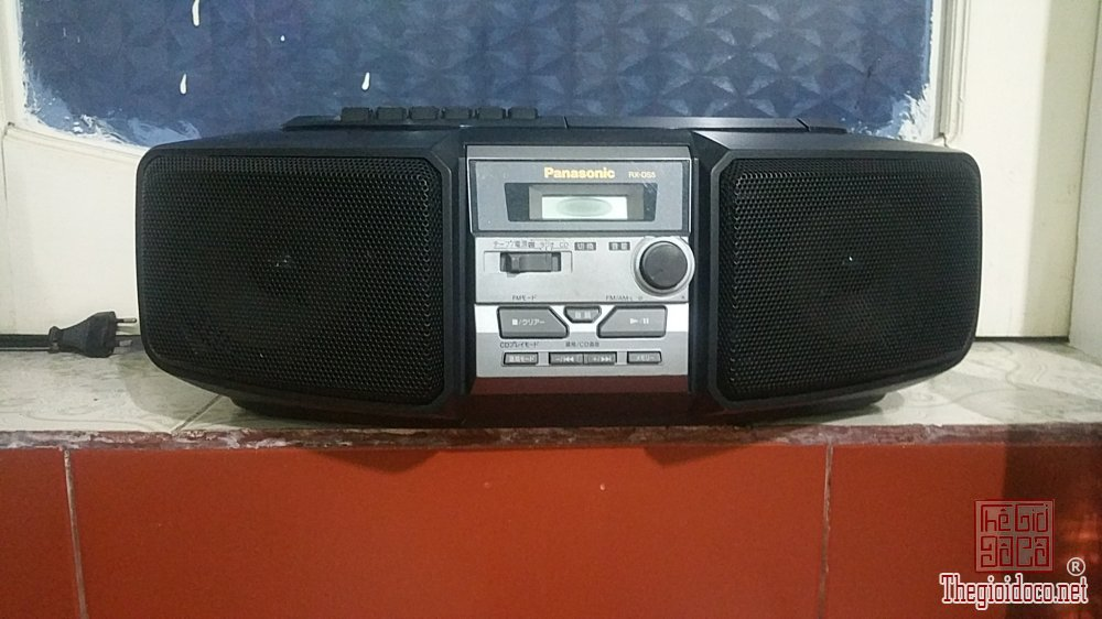 Đài CD Radio Cassette PANASONIC...
