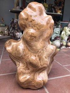 MS 9075.Cây đá Can xit vàng cao 75cm