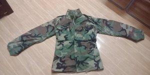 Áo Field Jacket khóa đồng chuẩn US