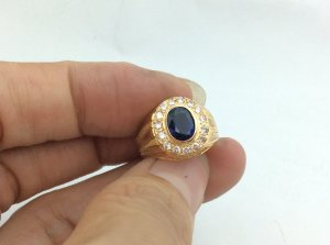Nhẫn vàng 20k Gold 835 hàng của Pháp sản xuất. H10023