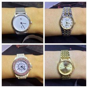 Đồng hồ nam nữ secondhand Thụy Sỹ, Nhật Bản giá rẻ