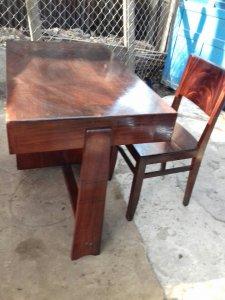 bộ bàn làm việc gõ đỏ