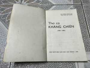 thơ ca kháng chiến 1974