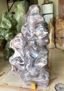 Cây đá vân cao lũa đẹp, cao 1 mét 12.