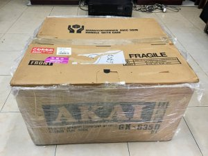 AKAI GX - 635D thùng xốp đẹp 99%