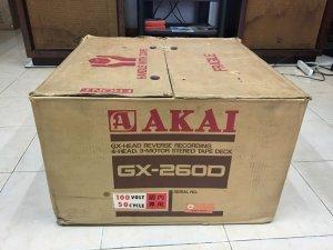 AKAI GX - 260D thùng xốp