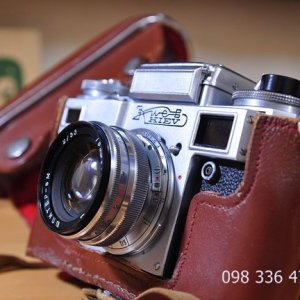 Bán máy ảnh Kiev 4 của Nga - Contax copy