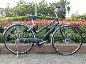 Xe đạp Bridgestone đen - Hàng bãi Nhật (MS113)