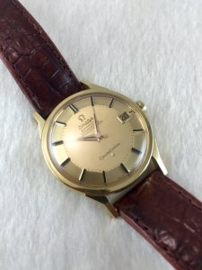 Omega Constellation Pie Pan Chronometer Automatic solid 18k gold Case & Dial's 18k Cal561