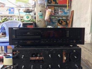 Cd Sony X55es - Cd Denon DCD735 - Cd Sansui 717D Limited Ltd - Cd Sony 338