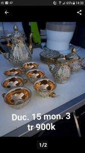 Bộ trà của Đức. 3,9tr