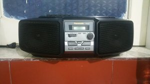 Đài CD Radio Cassette PANASONIC RX-DS5