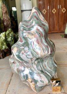 Cây đá ngũ sắc, cao 56cm.