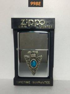 998E-hp chrome 2000 Zippo...