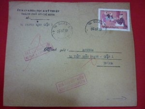 Phong bì thực gửi dán tem Chu Văn An bị đình chỉ phát hành