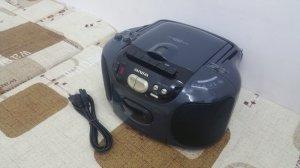 Đài CD Radio Cassette Aiwa CSD-EX110 (Đài rất đẹp)