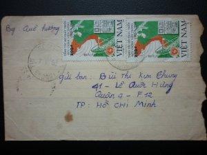 Phong bì thực gửi Việt Nam