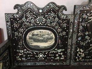 Giường Ba Thành Khảm Ốc Đẹp Hàng Vip