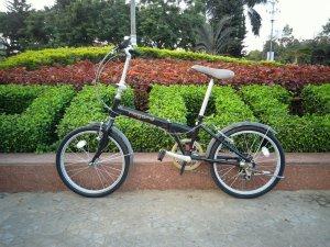 Xe đạp xếp Nogard - Hàng bãi Nhât ( MS117)