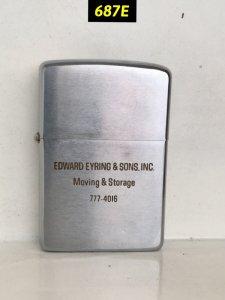 687D-chữ xéo 1968 EDWARD EYRING & SON .INC