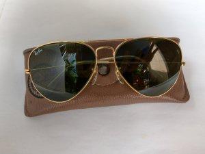 kính Rayban Aviator B&L. USA mạ vàng size 58 -14