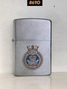 869D-brush chrome 1986 ARK ROYAL ( tàu sân bay hạng nhẹ hải quân Anh)