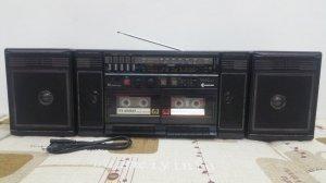 Đài Radio Cassette SAMSUNG rất đẹp.