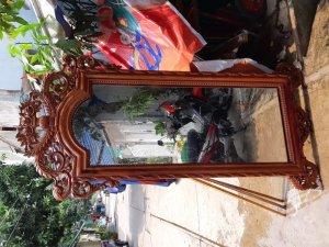 Gương soi.gỗ hương