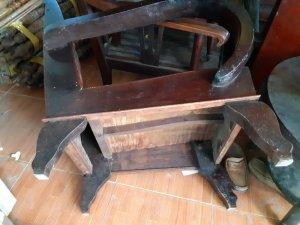 Salon thùng gỗ trắc