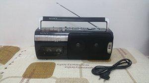 Đài Radio Cassette SONY nhỏ bé (Đài đẹp xuất sắc)