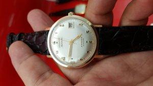 Đồng hồ Longines Armiral vỏ vàng 14k xưa chính hãng thụy sỹ