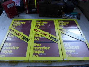 HCM - Q10 - Bán Băng Cassette The Master tape 90 và JVC GI 90
