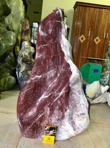 Cây đá thổ cẩm, nặng 60kg, giá 1tr500k.