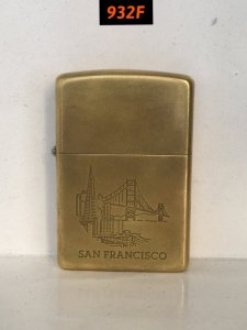 932F-solid brass 1993 -SAN FRANCISCO