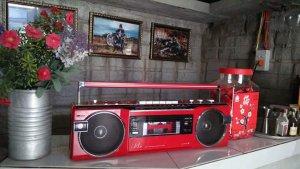 Radio cassette Sanyo U4