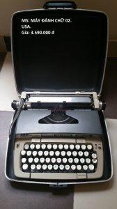 Máy đánh chữ của Mỹ , Đức.