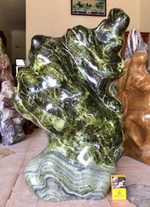 Cây đá chất ngọc đẹp, cao 96cm